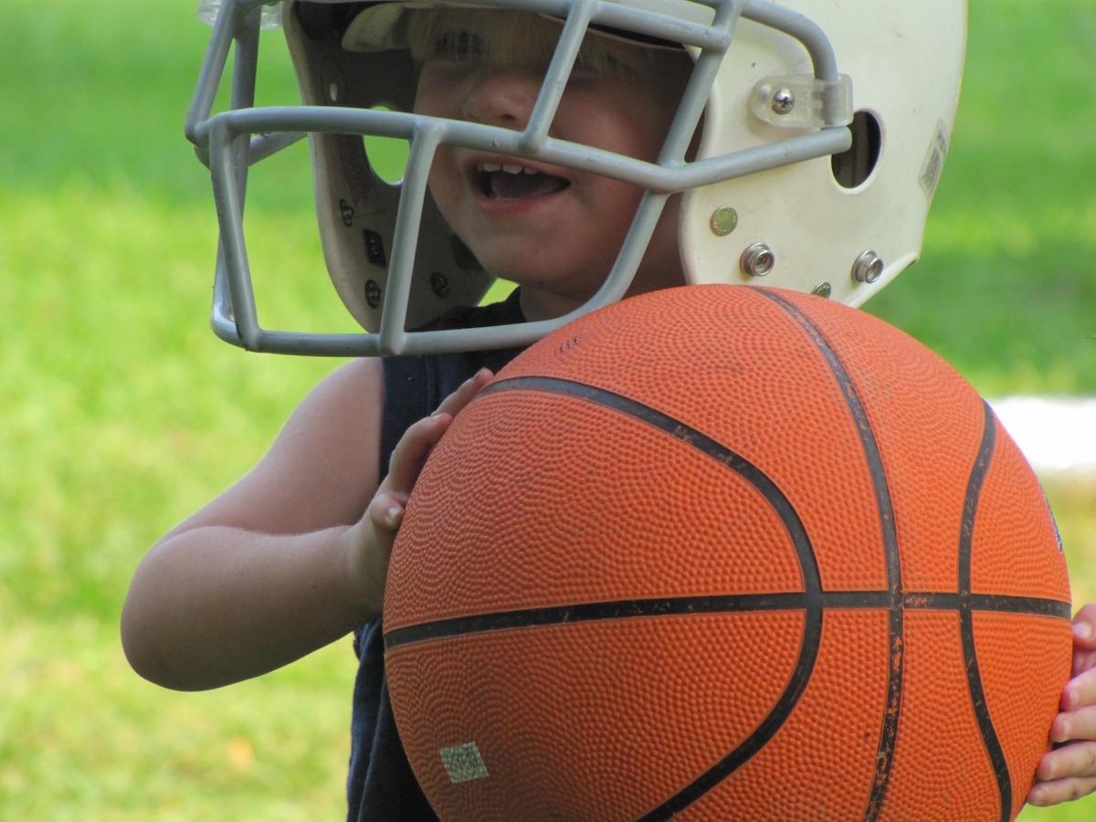 toddler athlete
